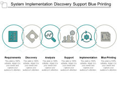 System Implementation Discovery Support Blue Printing Ppt PowerPoint Presentation Summary Slideshow