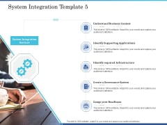 System Integration Implementation Plan System Integration Template Business Ppt Summary Design Templates PDF