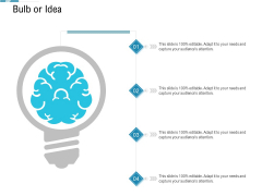 System Integration Model Bulb Or Idea Ppt Layouts Clipart Images