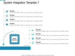 System Integration Model System Integration Template 1 Ppt Gallery Vector