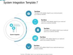 System Integration Model System Integration Template 7 Ppt Background Designs