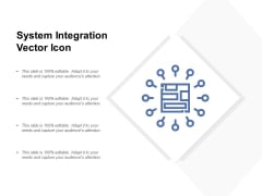 System Integration Vector Icon Ppt PowerPoint Presentation Slides Portrait
