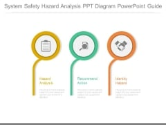 System Safety Hazard Analysis Ppt Diagram Powerpoint Guide