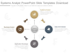 Systems Analyst Powerpoint Slide Templates Download