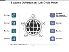 Systems Development Life Cycle Model Ppt PowerPoint Presentation Summary Example