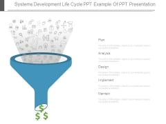 Systems Development Life Cycle Ppt Example Of Ppt Presentation