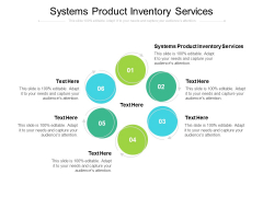 Systems Product Inventory Services Ppt PowerPoint Presentation File Background Cpb