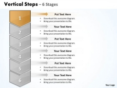 Sales PowerPoint Template Vertical Practice The Macro Steps 6 1 Business Design