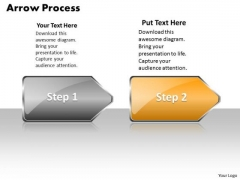 Sales Ppt Background Arrow Process 2 Stages Style 1 Project Management PowerPoint 3 Graphic