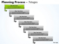 Sales Ppt Template Downward Process Of 7 Stages Business Management PowerPoint 2 Image
