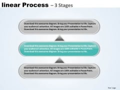 Sales Ppt Theme Linear Process 3 Phase Diagram Operations Management PowerPoint Design