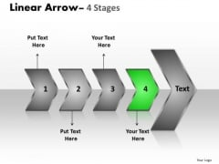 Sales Ppt Theme Succeeding Media Representation Theory PowerPoint Of 4 Arrows Business Design