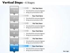 Sales Ppt Vertical Scientific Method Steps Representation Magazines 6 7 Graphic
