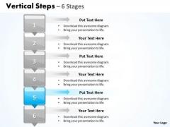 Sales Ppt Vertical Scientific Method Steps Representation Magazines 6 Graphic