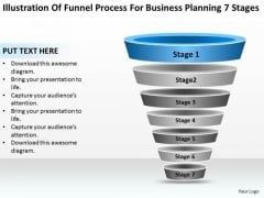 Sample Business PowerPoint Presentation For Planning 7 Stages Ppt Templates