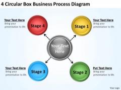 Sample Business Process Flow Diagram PowerPoint Templates