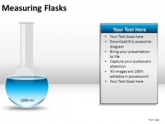 Sample Measuring Flasks PowerPoint Slides And Ppt Diagram Templates