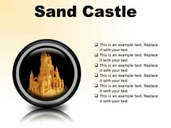 Sand Castle Beauty PowerPoint Presentation Slides Cc