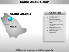 Saudi Arabia Country PowerPoint Maps