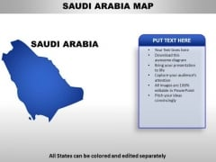 Saudi Arabia PowerPoint Maps