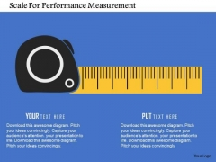 Scale For Performance Measurement Presentation Template