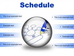 Schedule Business PowerPoint Presentation Slides C