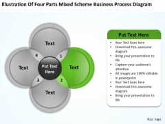 Scheme Business Process Diagram Ppt Plan For Startup PowerPoint Templates
