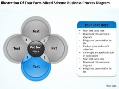 Scheme Business Process Diagram Ppt Plan Template Free PowerPoint Slides