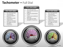 Science Tachometer Full Dial PowerPoint Slides And Ppt Diagram Templates