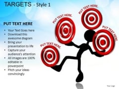 Science Targets 1 PowerPoint Slides And Ppt Diagram Templates