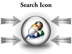Search Icon Business PowerPoint Presentation Slides C