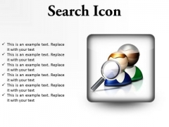 Search Icon Business PowerPoint Presentation Slides S