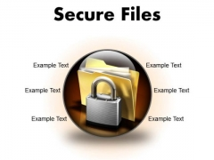 Secure Files Security PowerPoint Presentation Slides C