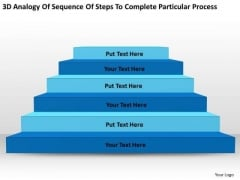 Sequence Steps To Complete Particular Process Ppt Parts Of Business Plan PowerPoint Templates
