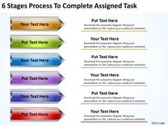Serial And Parallel Processing 6 Stages To Complete Assigned Task PowerPoint Templates