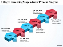 Serial And Parallel Processing Stages Increasing Arrow Diagram PowerPoint Templates