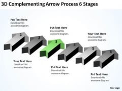 Serial Processing Vs Parallel Arrow 6 Stages PowerPoint Slides