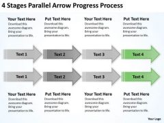 Serial Processing Vs Parallel Ppt PowerPoint Templates Backgrounds For Slides
