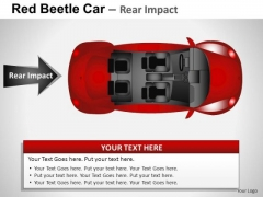 Service Red Beetle Car PowerPoint Slides And Ppt Diagram Templates