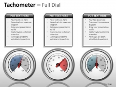 Services Tachometer Full Dial PowerPoint Slides And Ppt Diagram Templates