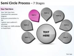 Seven Steps Business PowerPoint Templates Download Strategy Venn Diagram Slides