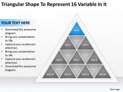 Shape To Represent 16 Variable In It Ppt Business Financial Planning PowerPoint Templates