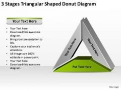 Shaped Donut Diagram Data Comparison Tips For Writing Business Plan PowerPoint Slides