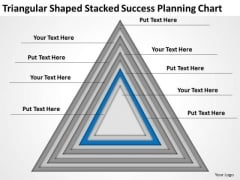 Shaped Stacked Success Planning Chart Ppt Business Writer Software PowerPoint Templates