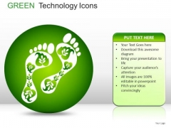 Shapes Green Technology Icons PowerPoint Slides And Ppt Diagrams Templates