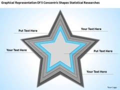 Shapes Statistical Researches Ppt Non Profit Business Plan Template PowerPoint Templates