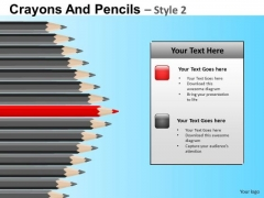 Sharpest Pencil In The Box PowerPoint Templates Ppt Slides