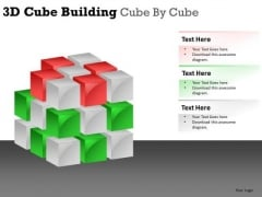 Show Brick By Brick Concept PowerPoint Slides And Ppt Diagram Templates