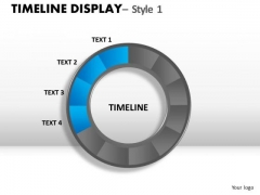 Show Timelines With Circular Stages PowerPoint Slides And Ppt Diagram Templates