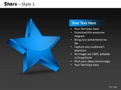 Show Winner Stars 1 PowerPoint Slides And Ppt Diagram Templates